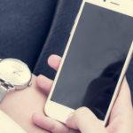 Iphone con Reloj